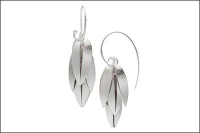 Cactus Flower Earrings- small
