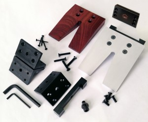 Universal Bench Pin Kit with mounting plate
