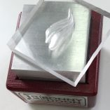 Carved Acrylic Crocus Die with Forming Box