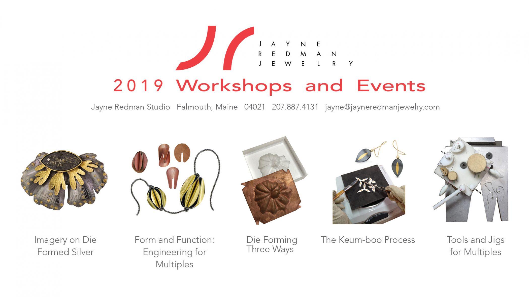 2019 Workshops!