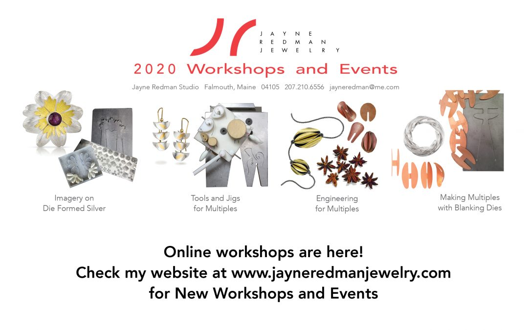 Online workshops are here!