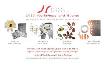 2020 Workshops!
