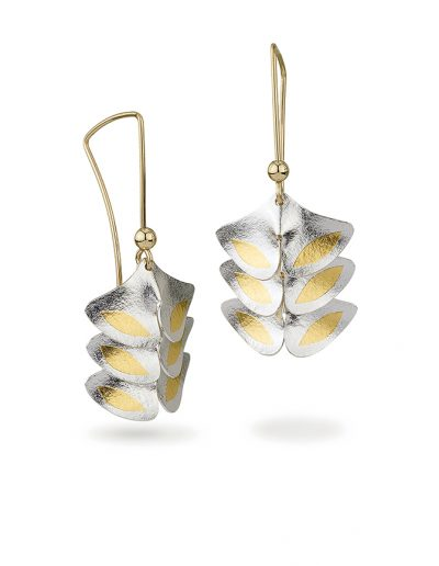 Jayne Redman Floraforms Earrings Gingko