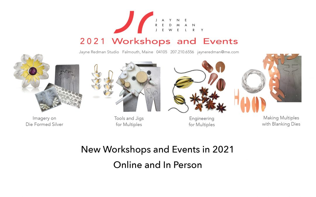 New Workshops for 2021!